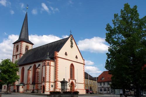 St. Johannes Baptist, Hofheim / Ufr.