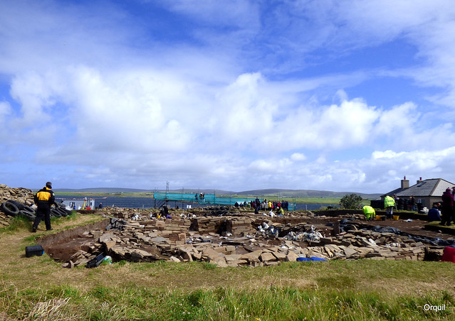The Ness Of Brodgar Archaeology Dig