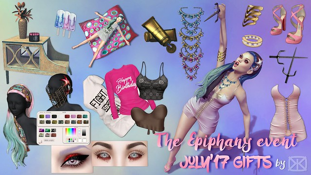 The Epiphany July 2017 gifts the epiphany july'17 GIFTS