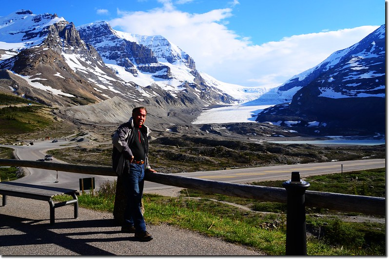 Taken from Columbia Icefield Glacier Discovery Centre 2