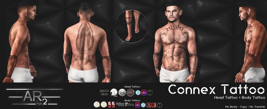 [AR2 Style] CONNEX Tattoo - SecondLifeHub.com