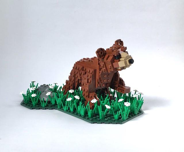 LEGO petit ours brun