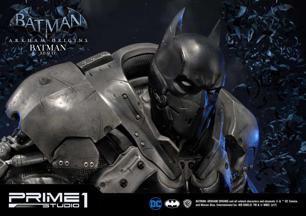 Prime 1 Studios 蝙蝠俠:阿卡漢起源【蝙蝠俠 XE 戰鬥裝甲】ミュージアムマスターライン バットマン:アーカム・ビギンズ バットマン XEスーツ MMDC-24EX
