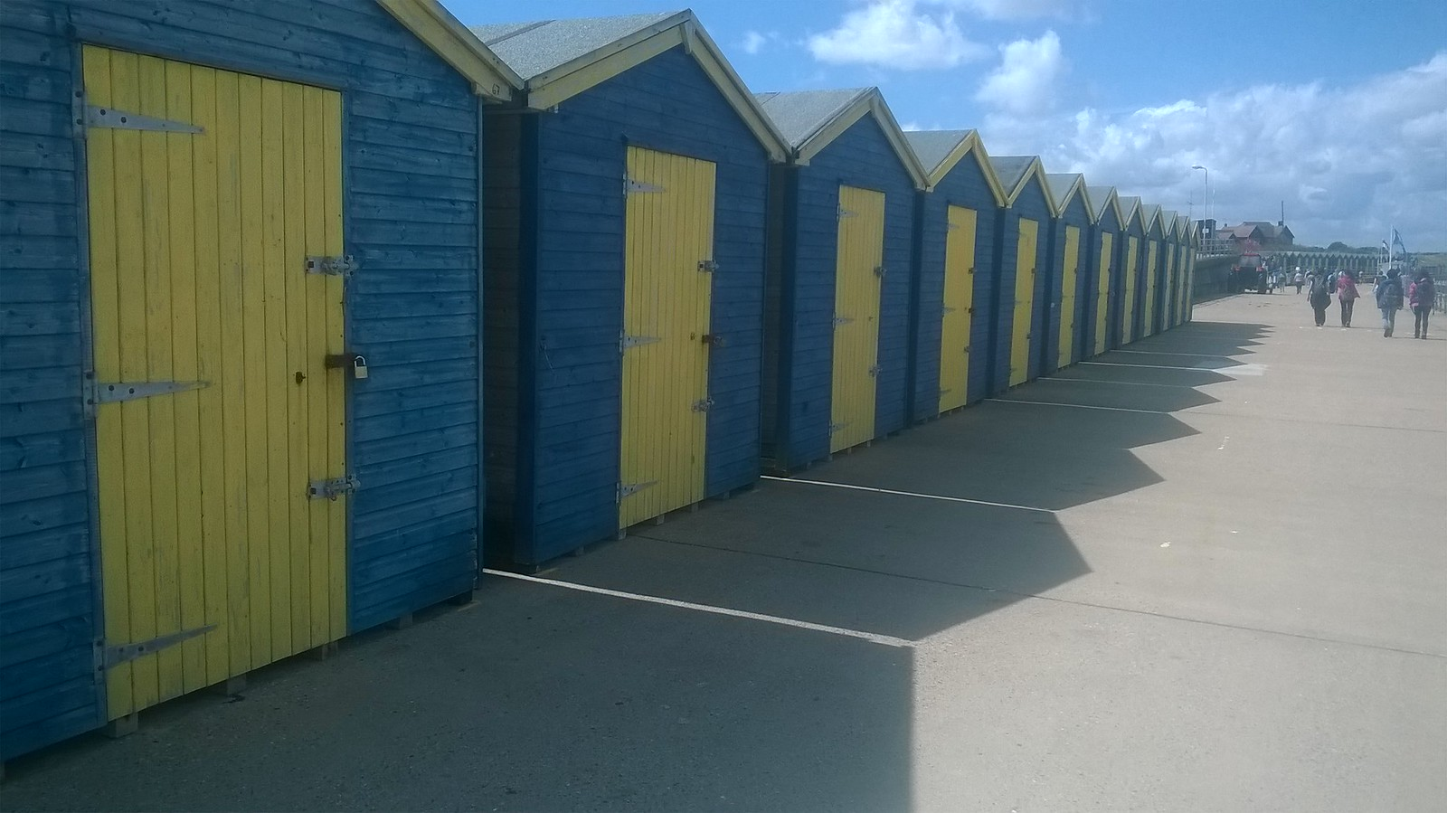 Beach huts at Birchington on Sea