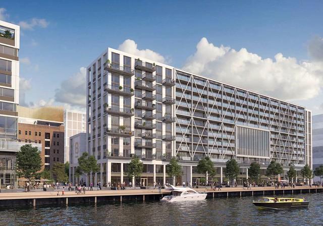 Bay House, Katendrecht Rotterdam ontwerp Joke Vos - 2020