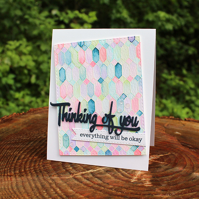 Cover Up Thinking Of You Card