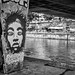 graffiti, donaukanal, vienna, austria
