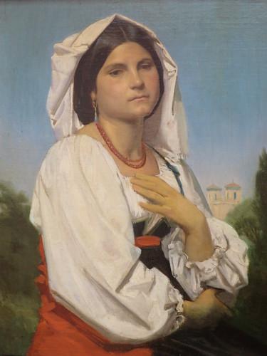Teresa, William Bouguereau - Musée des Beaux-Arts, Valenciennes (59)