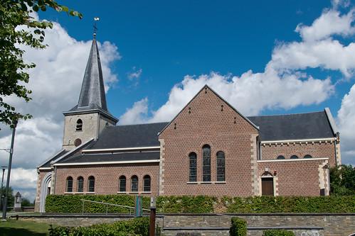 Kleine-Spouwen, Sint-Aldegondiskerk.