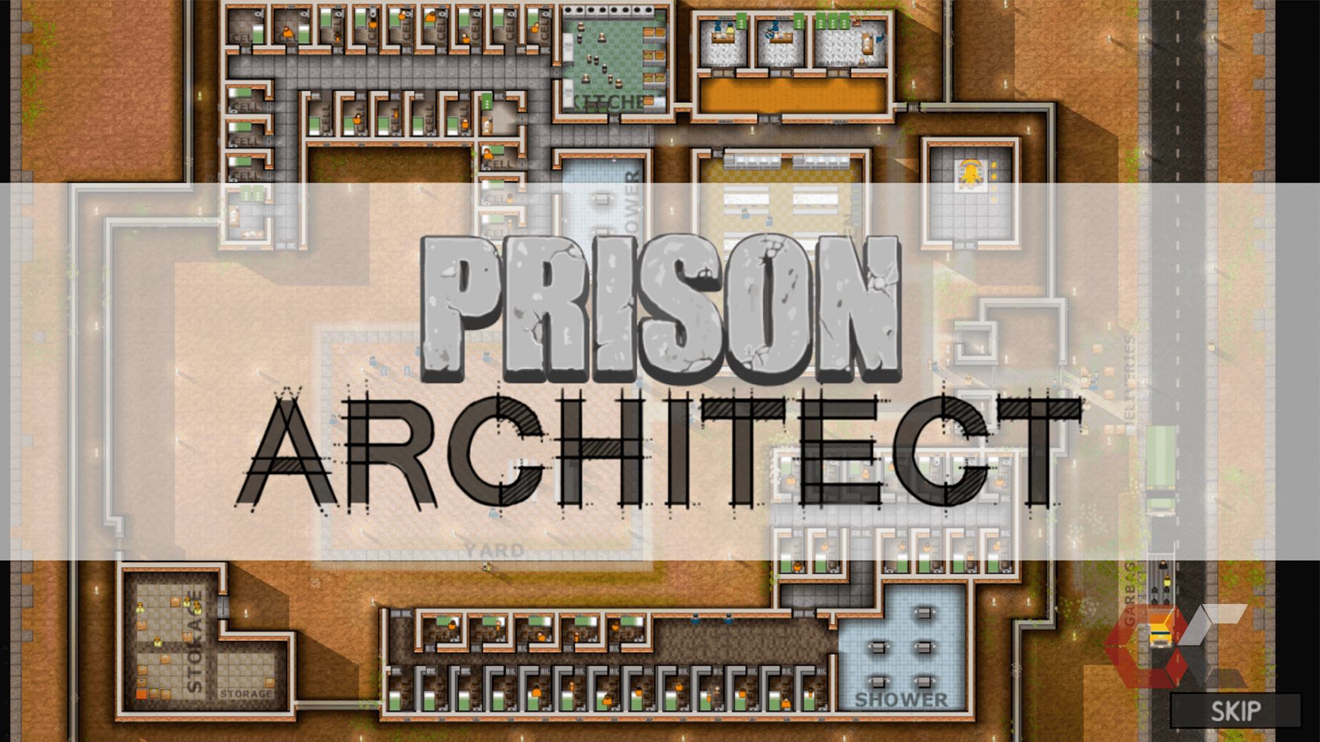 prison architect review - overcluster 2