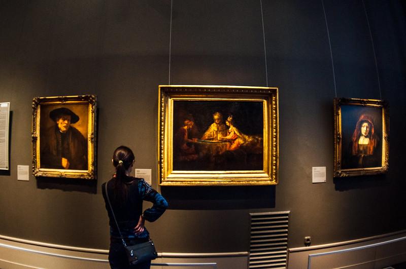 watching Rembrandt