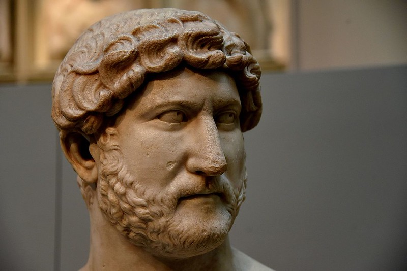 Bust of Emperor Hadrian, British Museum, London