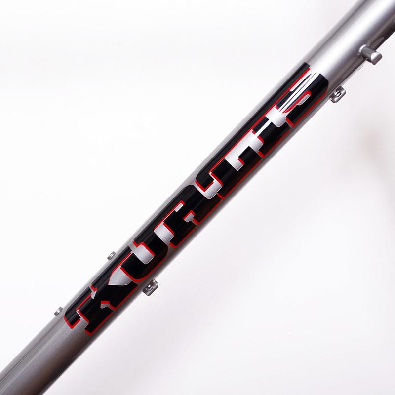 Kualis Cycles Steel disk road Frame & ENVE Fork.