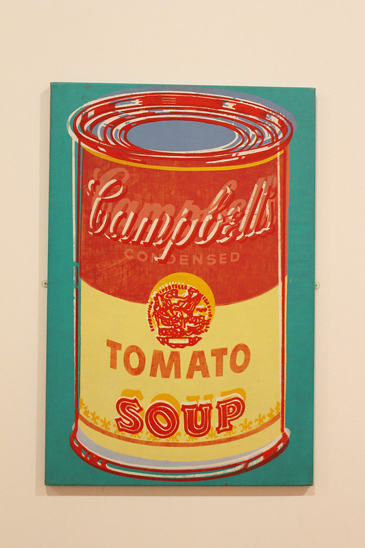 tomato soup campbell's warol