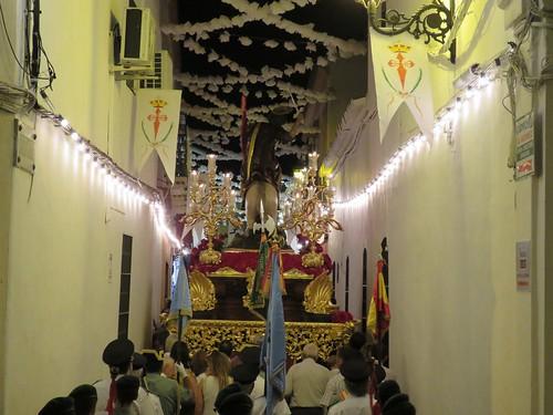 Procesión de Santiago Apóstol en Aznalcázar