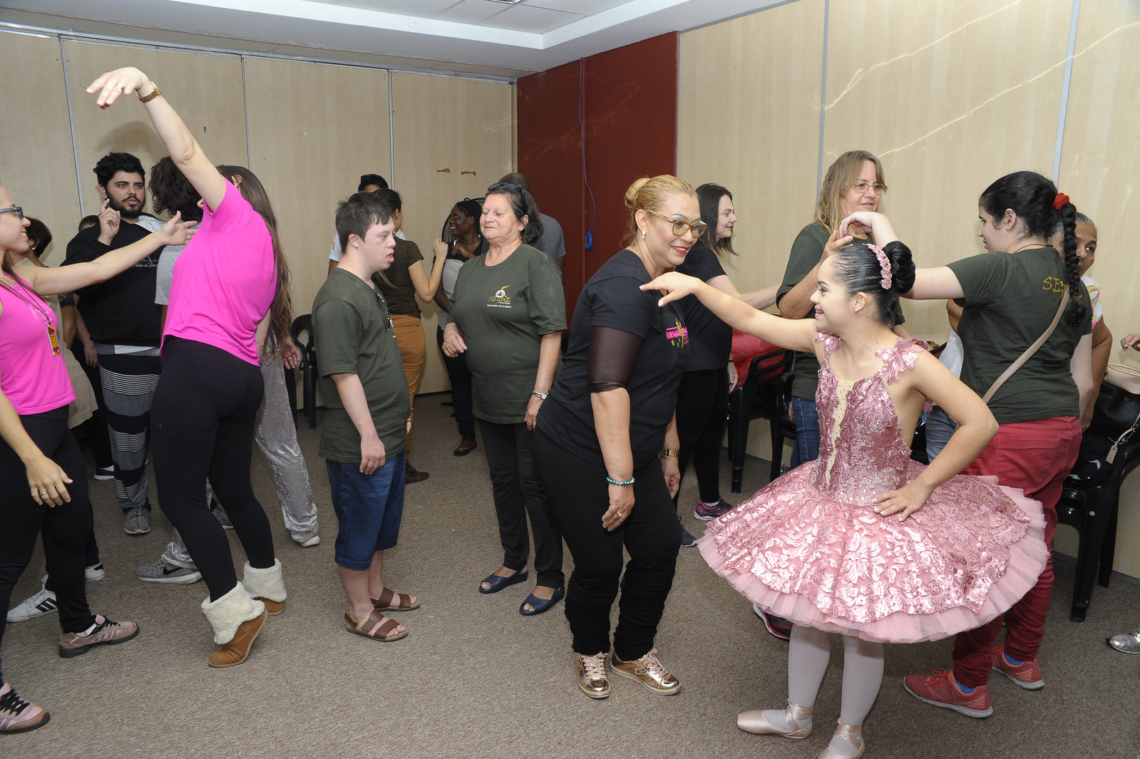 Oficina de Acessibilidade 25.07.2017 - 35º Festival de Dança de Joinville