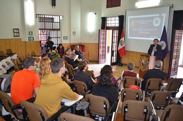 La Facultad de Medicina realizó la Bienvenida a estudiantes extranjeros