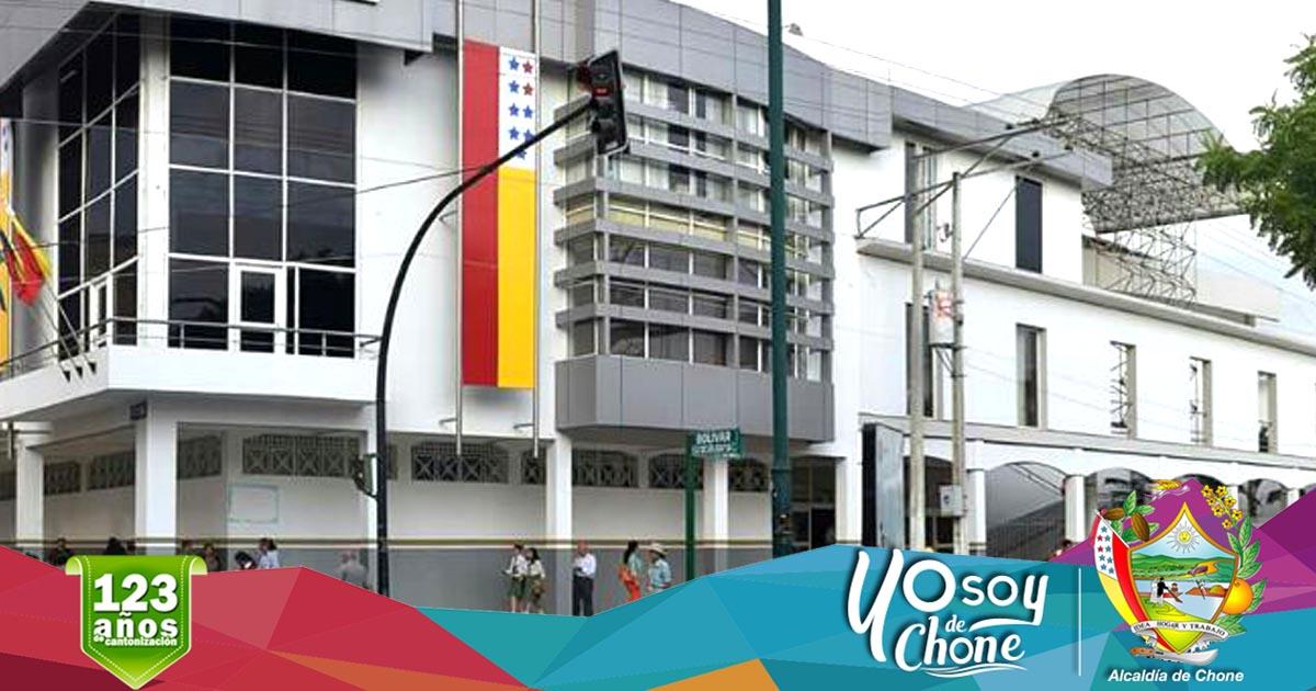 Alcaldía de Chone realizará actos cívicos conmemorativos en aniversario de cantonización