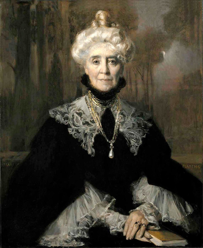 Mrs Adeline M. Noble by Francois Flameng
