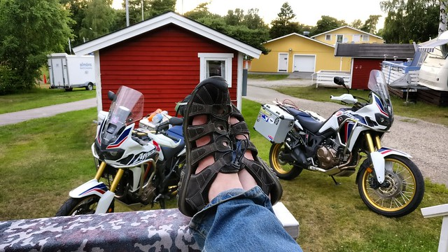 Almons hytte and adventure sandals