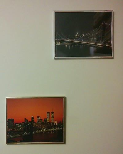 Two New York City posters of three