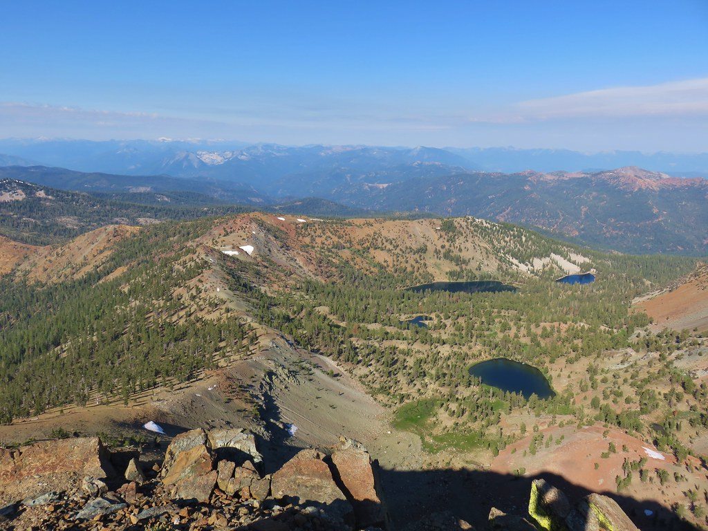Deadfall Lakes from Mt. Eddy