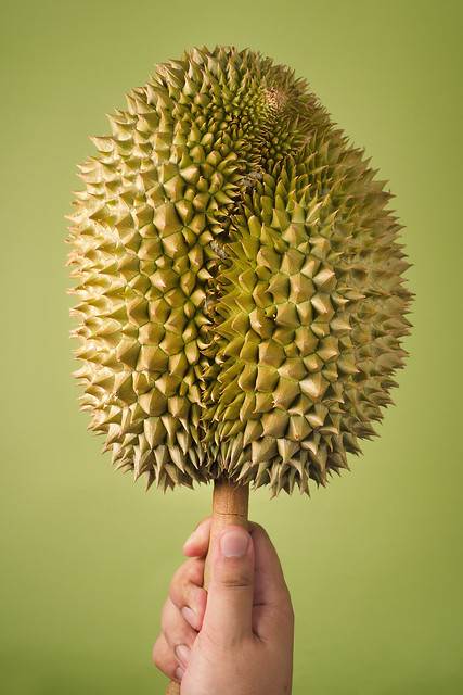 Mon Thong Durian on a stick
