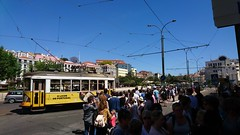 Rij voor een trammetje