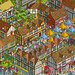 Stratford Upon Avon: Daily Mail Great British £100,000 Treasure Hunt - isometric pixel art illustration by Rod Hunt by Rod Hunt Illustration