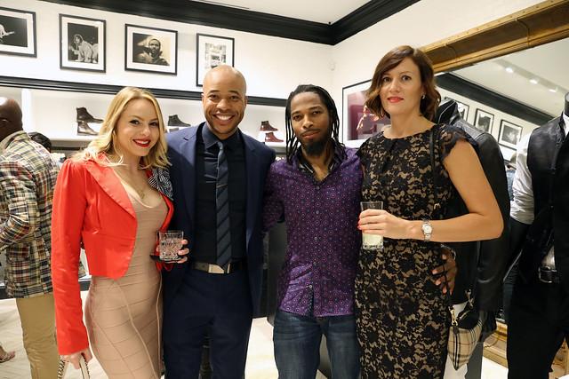 Anya Jordan, Bryan Hughes, Shuresh Williams, & Kristina Panchenko