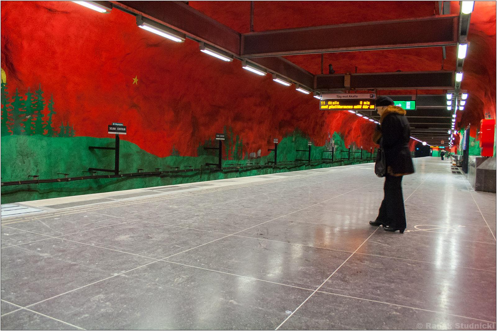 Stacja metra Sztokholm Solna