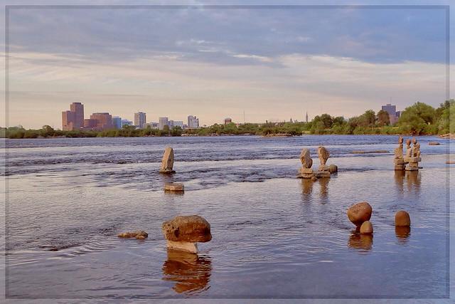 Remic Rapids Rock Sculpture Project