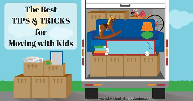The Best Tips & Tricks for Moving with Kids #sponsored