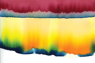 Food dye chromatography