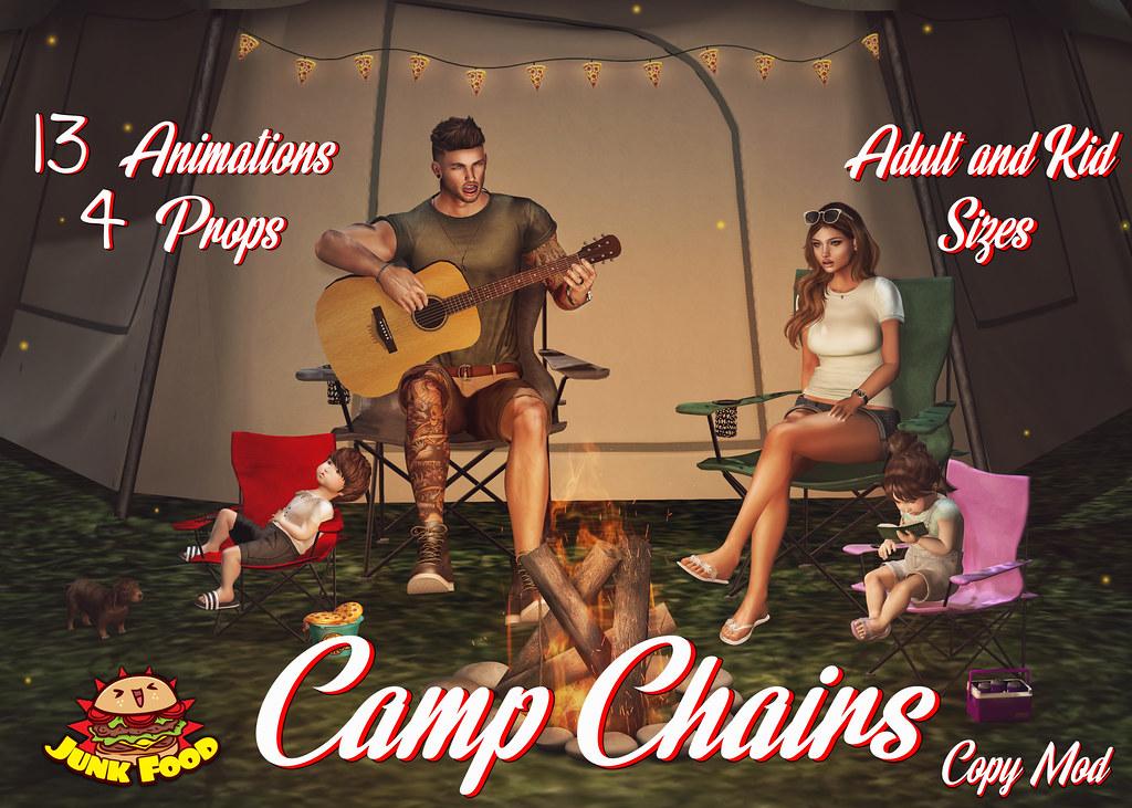 Junk Food - Camp Chair Ad - SecondLifeHub.com