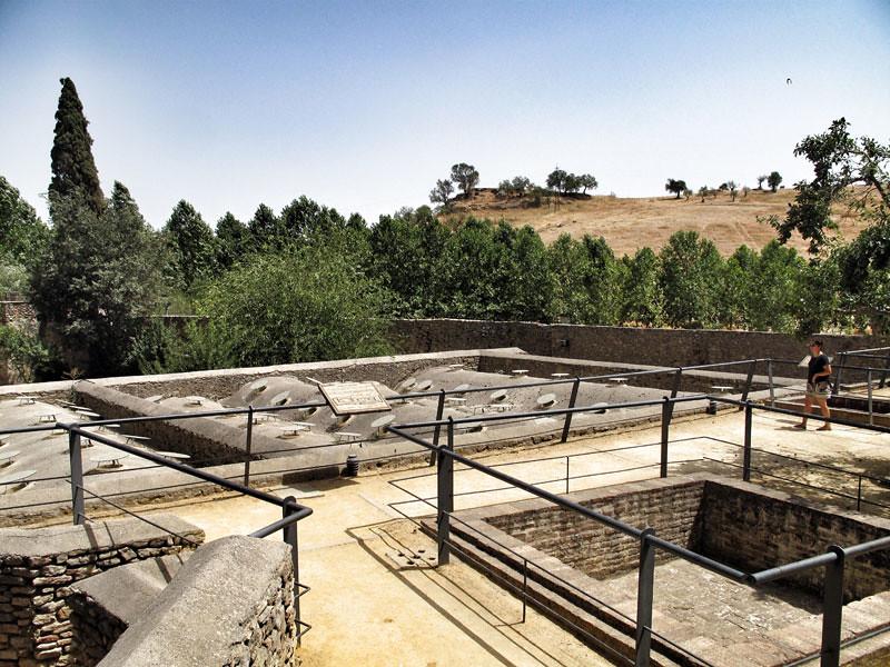 baños árabes ronda_rehabilitación_cubierta_arquitecto Ciro de la Torre