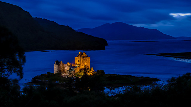 Blue Night at Loch Duich