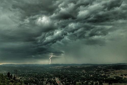 daytimelightning thunderstorm southdakotathunderstorms
