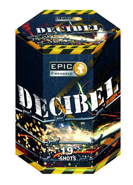 Decibel 19 Shot Barrage by Epic Fireworks