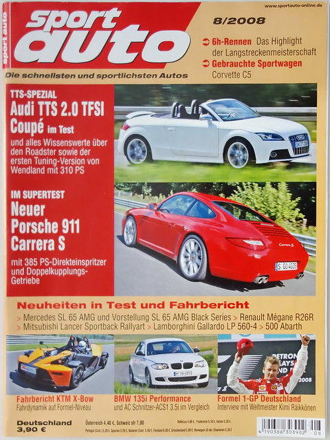 Image of sport auto 8/2008