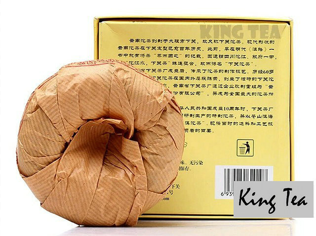 Free Shipping 2006 XiaGuan CangEr Boxed Tuo Bowl 250g * 4 = 1000g YunNan MengHai Organic Pu'er Raw Tea Weight Loss Slim Beauty Sheng Cha