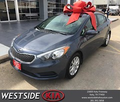 #HappyBirthday to Veronica from Rick Hall at Westside Kia!