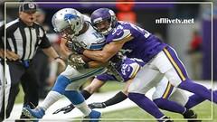 Minnesota Vikings vs Detroit Lions Live Stream