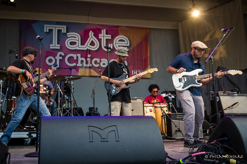 Café Tacvba live at Taste of Chicago