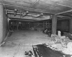 Photograph of the Loading Dock from the Interior of the National Archives Building