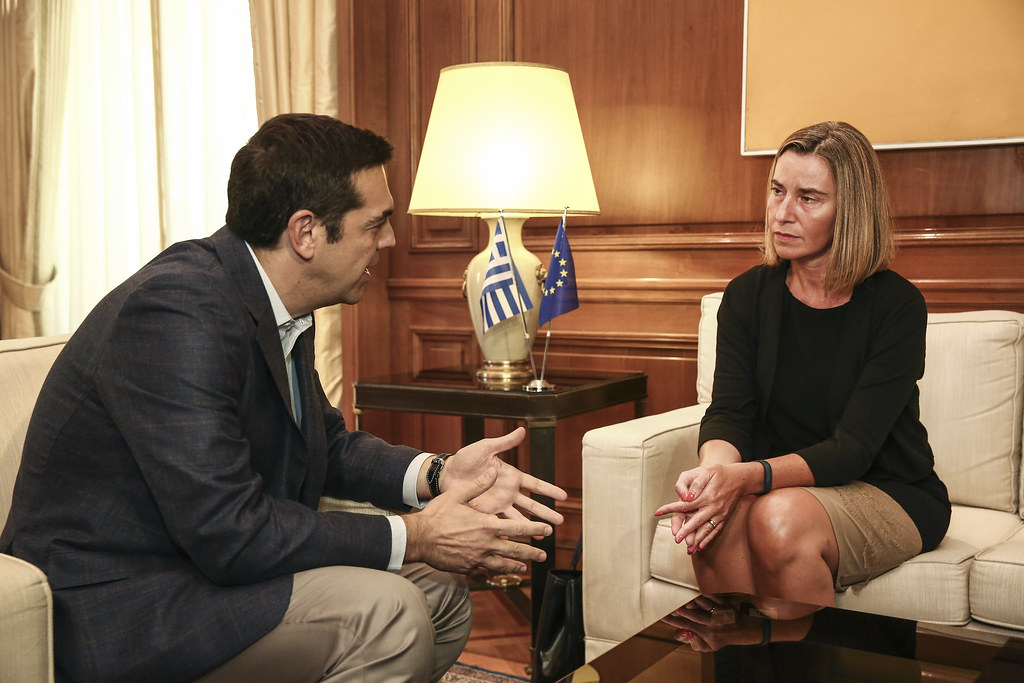 Federica Mogherini visits Greece, July 2017