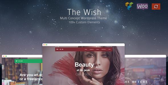 Wish v1.1.0 – Responsive Multi-Purpose WordPress Theme