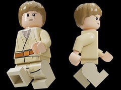 Custom Young Anakin Skywalker - Short Movable Legs  //2