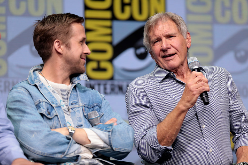 Ryan Gosling & Harrison Ford