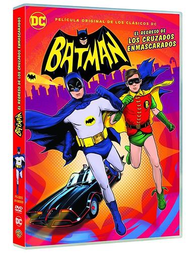 Batman el regreso de los cruzados enmascarados